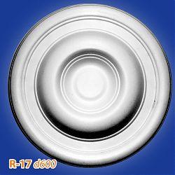 Потолочные розетки R-17 d600