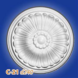 Потолочные розетки C-21 d240