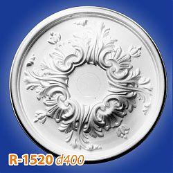 Потолочные розетки R-1520 d400