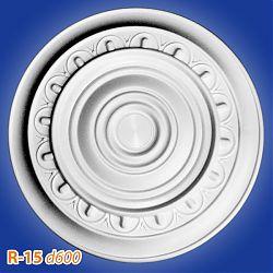 Потолочные розетки R-15 d600