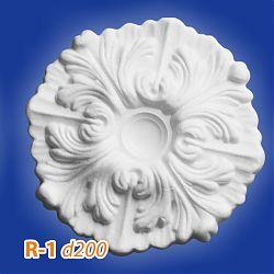 Потолочные розетки R-1 d200