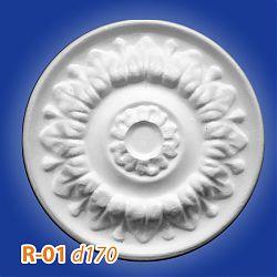 Потолочные розетки R-01 d170
