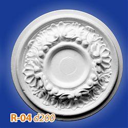 Потолочные розетки R-04 d200